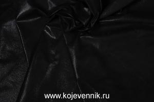 Кожа натуральная - Кожа пыль черная